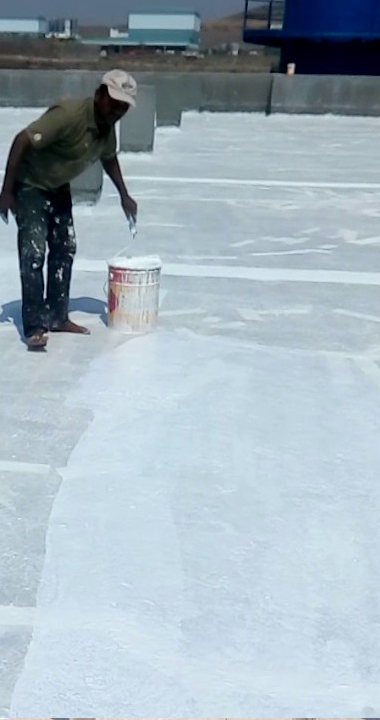 Terrace water proofing